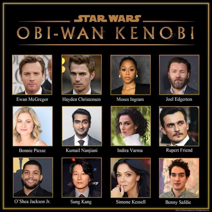 Elenco completo da série Obi-Wan Kenobi