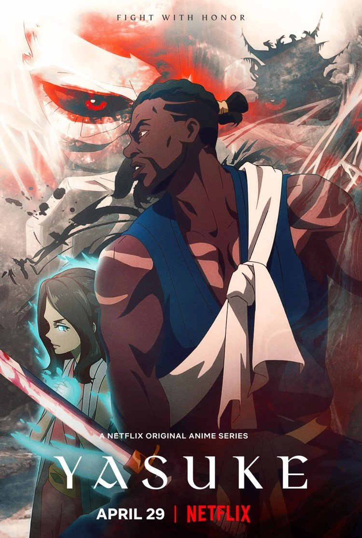 Yasuke Anime Netflix trailer