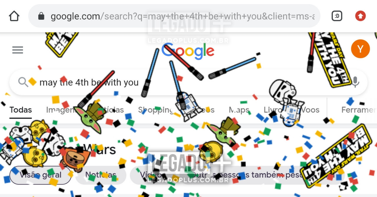 Star Wars Google Legado Plus