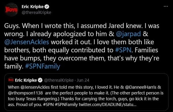 Eric Kripke fala sobre novo prequel de Supernatural - legadoplus