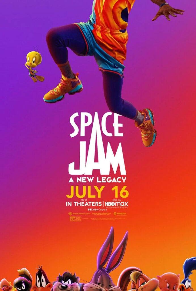 Space Jam 2 ganha novo pôster - legadoplus