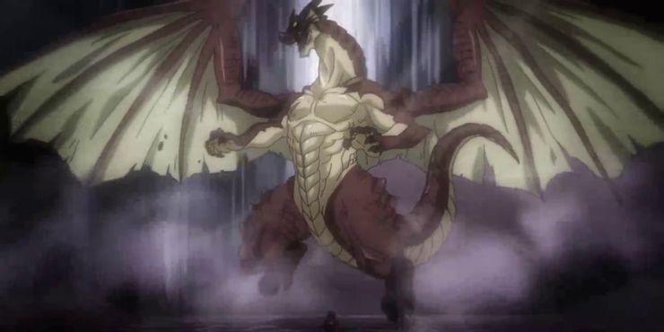 Igneel, conhecido como Rei dos Dragões de Fogo, em Fairy Tail - legadoplus